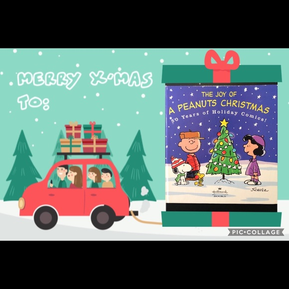 Peanuts Other - ⚡️⚡️⚡️Joy of a Peanuts Christmas Book